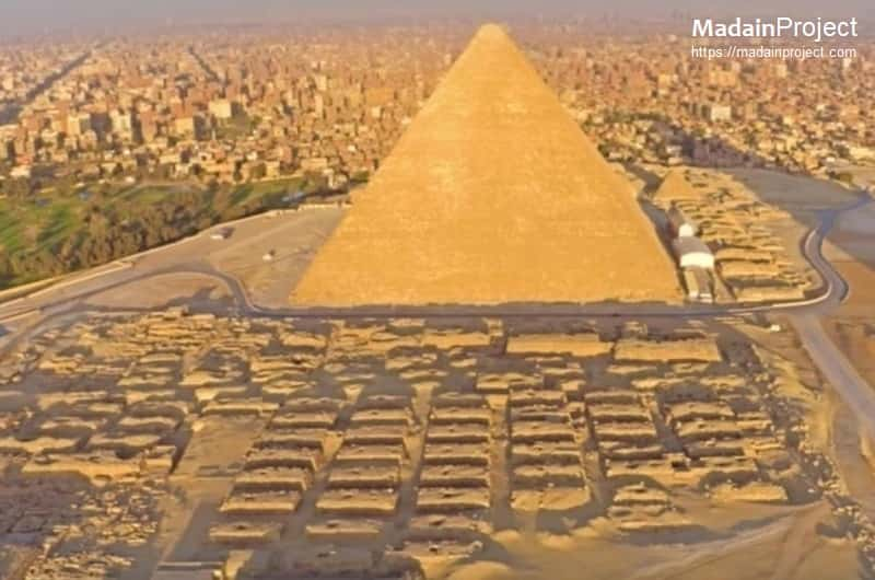 Great Pyramid Of Giza Complex Madain Project En The Pyramid