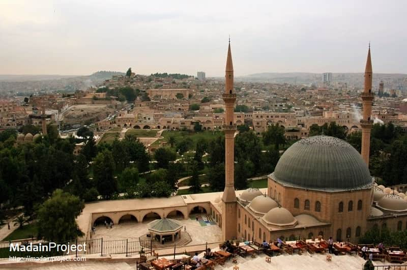 Mevlid-i Halil Mosque and the skyline of Sanliurfa