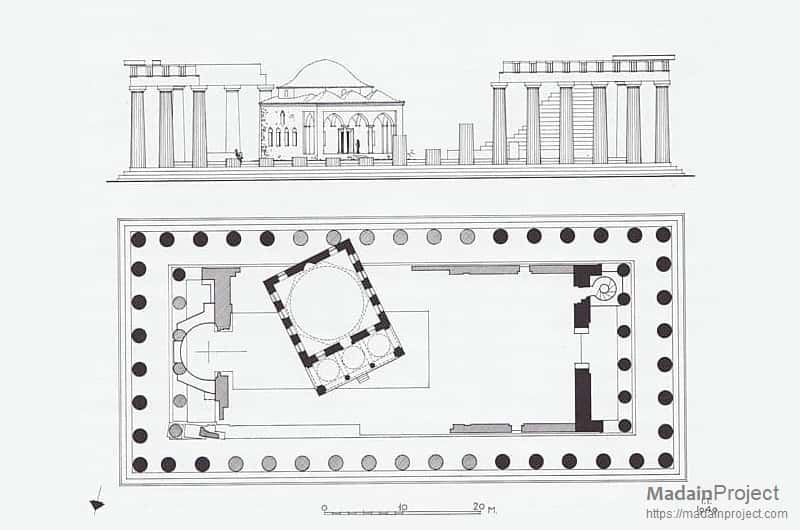 Parthenon Mosque Madain Project En